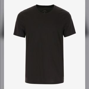 Armani Exchange Black t-shirt New Shortened